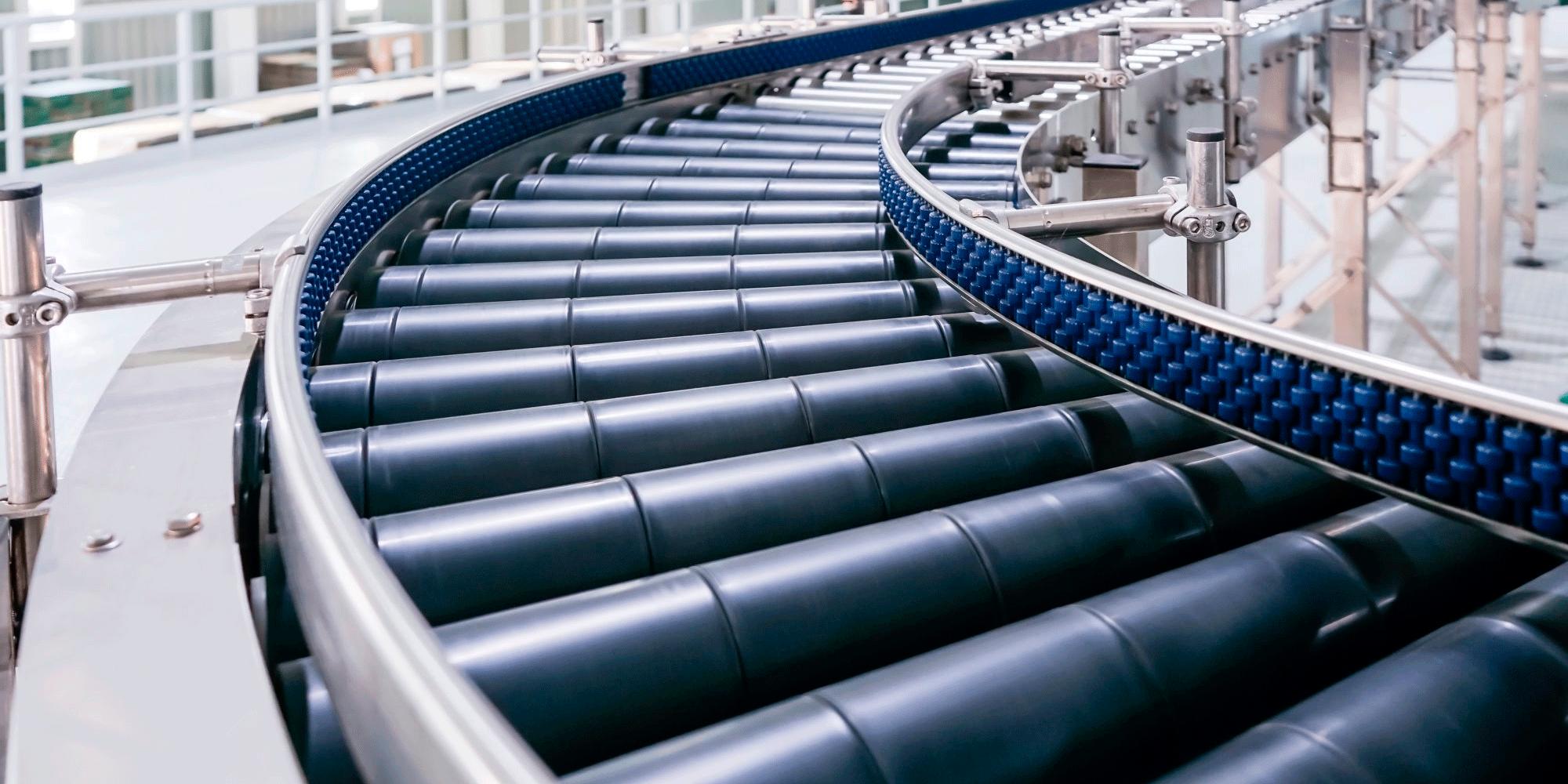 Производство роликовых конвейеров